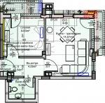 Скица на жилището
